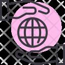 Care Support Globe Icon