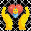 Care Child Care Kid Love Icon
