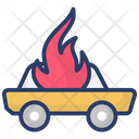 Care Fire Care Burning Accident Icon