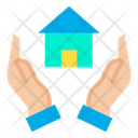 Take Care Of House Care Of House Hands Icon