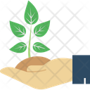 Care Plant Ecology Gardening Icon