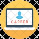 Career Online Job Icon