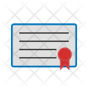 Career Degree Certificate Icon