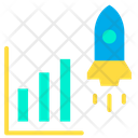 Career Growth Growth Advancement Icon