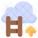 Career Cloud Business Icon
