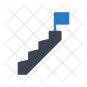 Career Success Stair Icon