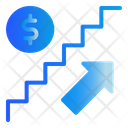 Stair Finance Growth Icon