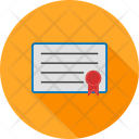 Career Certificate Degree Icon