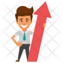 Career Advancement Success Icon