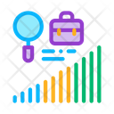 Career Advancement Research Icon
