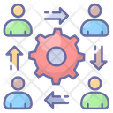 Career Advancement Gear Business Icon