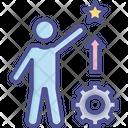 Career Development Efficiency Experience Icon