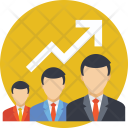 Employees Team Growth Icon