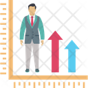 Career Growth Chart Graph Icon