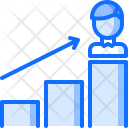 Career Ladder Arrow Icon