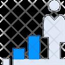 Career Employee Growth Icon
