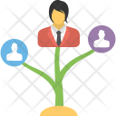 Career Growth Plant Icon