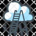 Achievement Career Cloud Icon