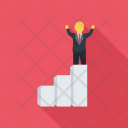 Career Ladder Seo Icon