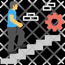 Career Path Development Icon