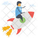 Career Boost Career Startup Career Growth Icon