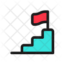 Career Ladder Development Icon