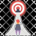 Career Target Career Aim Career Objective Icon