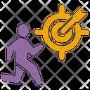 Career Target Career Growth Career Objective Icon