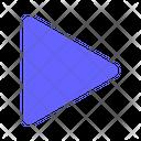 Caret Right Right Arrow Icon