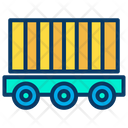 Cargo Container Delivery Container Icon