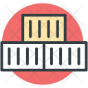 Cargo Containers Shipping Icon
