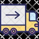 Cargo Delivery Van Shipment Icon