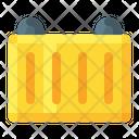 Cargo Shipment Customs Icon