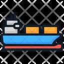 Cargo Cargo Ship Logistics Icon