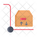 Cargo Trolley Parcel Icon