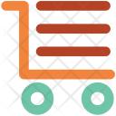 Cargo Trolley Cart Icon