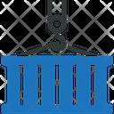 Cargo Container Logistics Icon