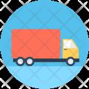 Cargo Truck Plant Icon