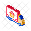 Truck Cargo House Icon