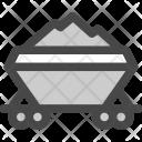 Cargo Train Coal Icon
