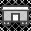 Cargo Train Railway Icon