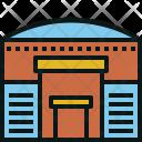 Cargo Warehouse Shipping Icon