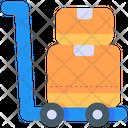 Cargo Box Delivery Icon