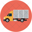 Cargo Truck Delivery Icon