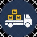 Cargo Boxes Transport Icon