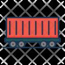 Cargo Container Vehicle Icon