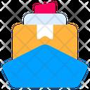 Cargo Ship Box Icon