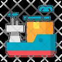 Cargo Export Shipping Icon