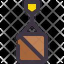 Cargo Container Logistic Icon