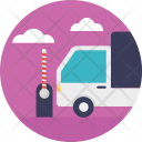 Cargo Road Delivery Icon